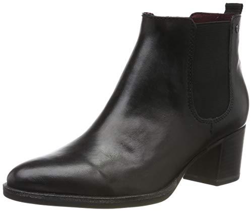 Tamaris Damen 1-1-25001-23 Chelsea Boots, Schwarz (Black 1), 39 EU