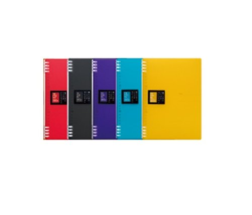 キングジム リングノートテフレーヌ 9855TTE-2 5色5冊組み