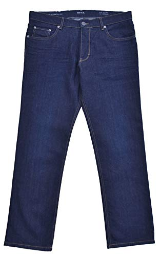 Brax Jeans BX Cooper Denim Regular Fit donkerblauw