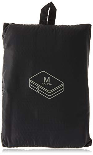 Muji Gusset Case, Nylon, Black, Medium