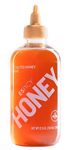 ESPICY Honey 250 ml - 360 gr | Miel con un toque picante | Picante & dulce | Sin aditivos...