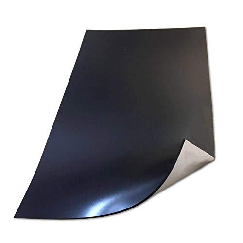Hoja magnética autoadhesiva 1,5 mm Extra gruesa imán fuerte tirón para el imán del refrigerador tienda de manualidades puntos