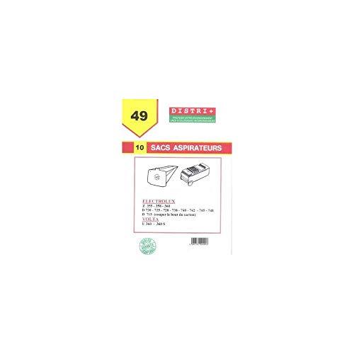 Sac aspirateur Electrolux VOLTA, D715 / 720 / 725 / 728 / 730 / 736 / 738 / 740 / 742 / 745 / Z355