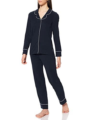 ESPRIT Bodywear Damen Beautiful Basics NW COO Pyjama lslv_lg Pyjamaset, 400, 40
