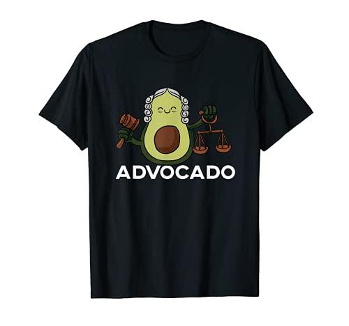 Disfraz de abogado vegano, diseo Advocado de aguacate Camiseta