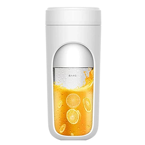 YLLYLL Mini Juicer Portable Blender Smoothie USB Electric Blender Mixer for Personal Food Processor Maker Juice Extractor Gym - Perfect Travel Partner