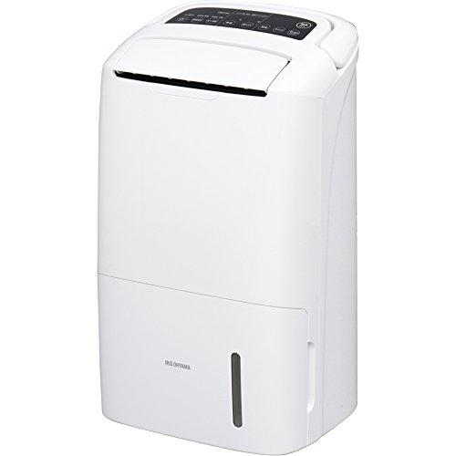 アイリスオーヤマ 除湿機 空気清浄機付 衣類乾燥 1台2役 イオン搭載 除湿量12L タイマー付 湿度センサー付 空気汚れモニター付 PM2.5 花粉 99.97%除去 DCE-120 ホワイト