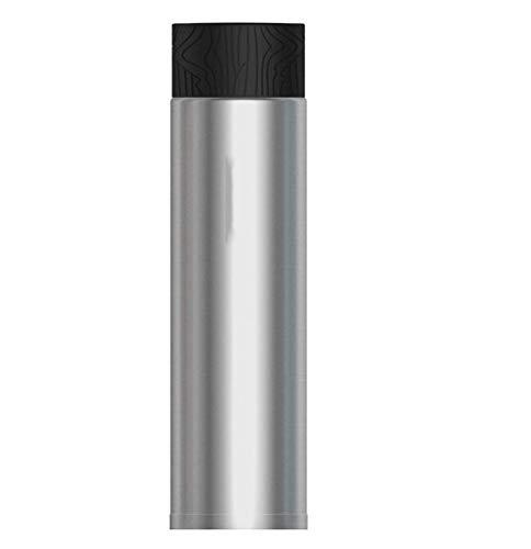 AZZ Tasse de Voyage isolée Tendance en Acier Inoxydable, Bouteille à Vide et Bouteille à Eau en Acier Inoxydable - 10 Heures à Chaud et 20 Heures à Froid - 310 ML - sans BPA (Couleur : Silver)