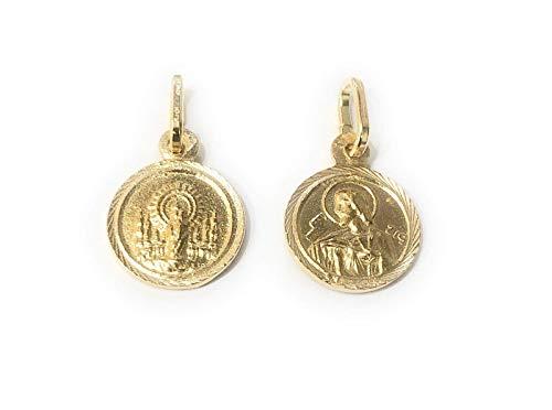 De Bussy Medalla escapulario Virgen del Pilar