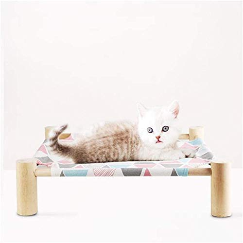 Cat Hammock Summer Breathable Cat Litter Detachable Pet Hanging Bed to Isolate Moisture Suitable for Cats and Small Dogs-1