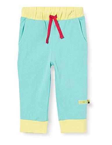 loud + proud Soft Pant Organic Cotton Pantalones de Deporte, Verde (Mint Min), 86/92 para Bebés