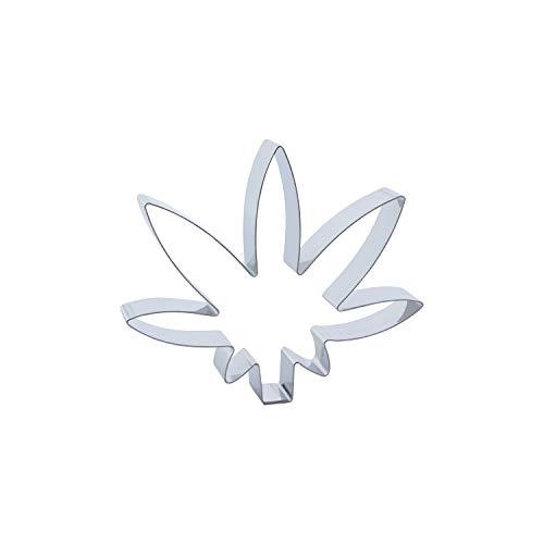 Cuttersweet 1 Keks - Ausstecher Hanf Blatt/Marihuana Blatt