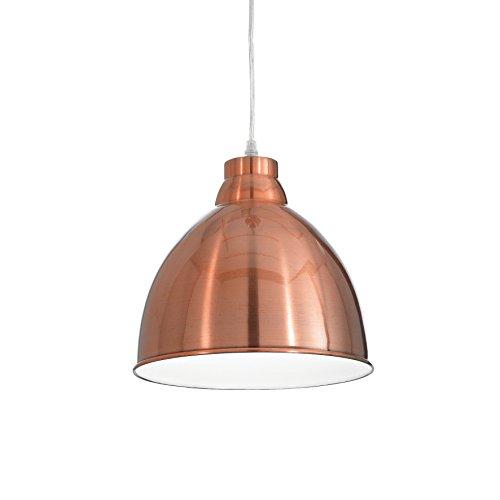 L'Aquila Design Arredamenti Ideal Lux Lampada a Sospensione Navy Colore Rame e Montatura in Metallo