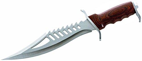 Herbertz Fantasy Messer Gesamtlänge: 41.5cm Pakka Gürtelmesser, Mehrfarbig, One Size