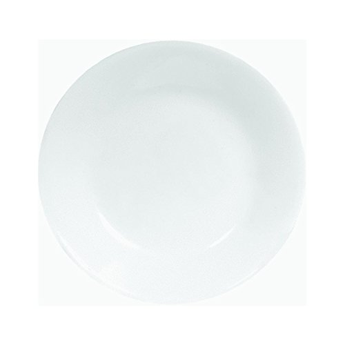 Ekco 6-3/4' Corelle Livingware Bread and Butter Plate Sold in Packs of 6, 6 pack, Winter Frost White
