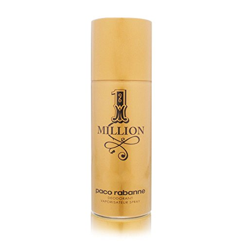 Paco Rabanne 1 Million Deo Vaporizador, 150 ml, Multicolor