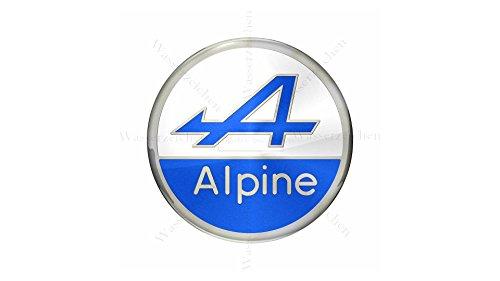 Sticker-Designs 95cm! Aufkleber-Folie Wetterfest Made IN Germany Alpine AD021-Logo UV&Waschanlagenfest Vinyl-Auto-Sticker Decal Profi Qualität bunt farbig Digital-Schnitt!