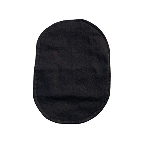 Ostomy Bag Cover Black, 3.25 inch Opening