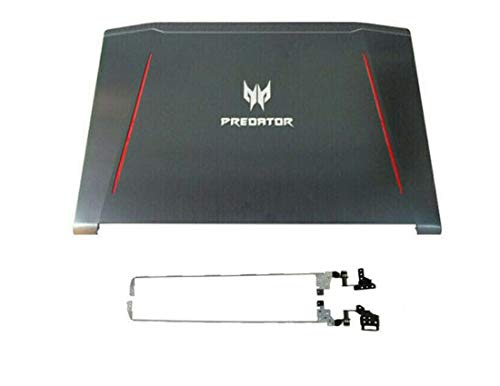 Replacement for Acer Predator Helios 300 G3-571 G3-572 PH315-51 Top LCD Back Cover & Hinges Sets