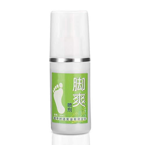 Soapow Desodorante de pies eficaz en spray para eliminar olores de pies, anti pies; spray fresco para cuidado de pies