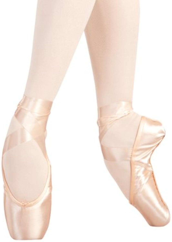 Capezio Aria ES Pointe shoes - Size 5.5M, Petal Pink