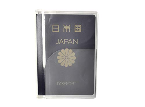 JTB商事 パスポートカバー クリア 日本製 透明色 512001027
