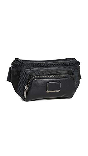 TUMI - Alpha Bravo Campbell Utility Pouch Waist Pack - Crossbody Bags for Men and Women - Black