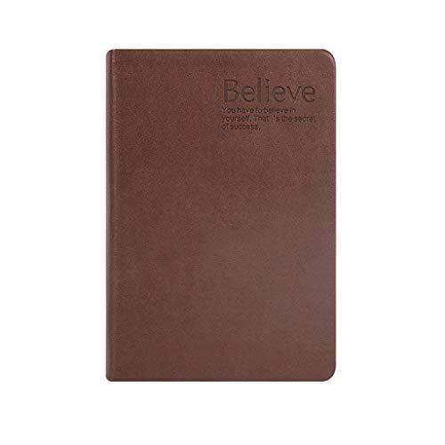 LYLY Cuadernos de taquigrafía Cuaderno de bocetos en Blanco Cuaderno Engrosado Cuaderno de Papel Blanco Cuaderno de bocetos Retro Simple 600 Página Oficina y papelería
