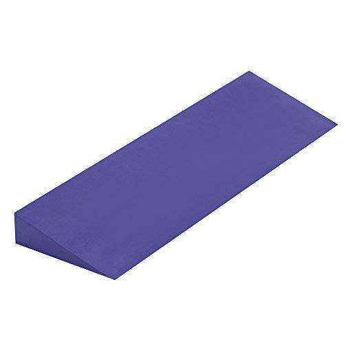 Yoga Studio YS/Wedge/Purple, Viola, 50 x 15 x 5 cm, Antiscivolo Eva Cuneo per Iyengar Yoga, Leggero Accessorio per Esercizi. Unisex-Adulto, Standard