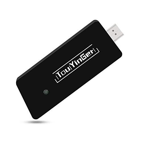 Touyinger ドングルレシーバー ミラキャスト HDMI WiFiディスプレイ ワイヤレスディスプレイ 大画面/高画質動画転送 iOS Android Windows Macに対応 日本語取扱説明書付き TY02