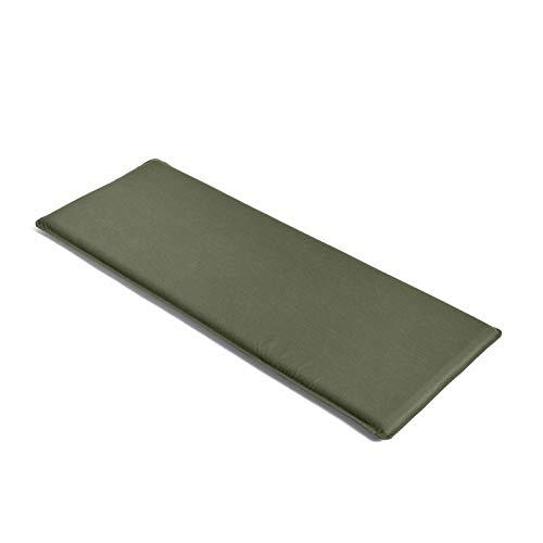 HAY Palissade Sitzkissen 107,5x43,5cm, olivgrün wasserabweisend für Palissade Dining Bank