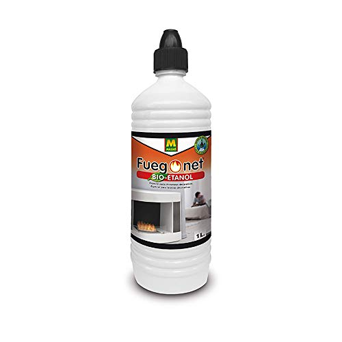 FUEGO NET Fuegonet 231427 Bioetanol, Transparente, 3x8x27.4