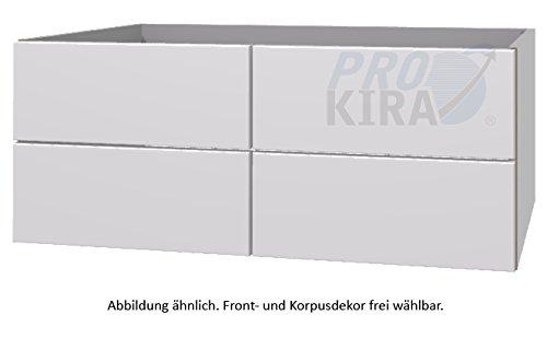 PURIS Ice Line lavabo sotto armadio/wua332d23/Premium/120x 48x 47cm