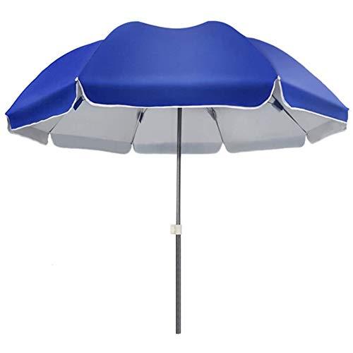 SJBD-Coaster Sombrilla-Sombrilla para Patio-Sombrilla Grande para terraza de Mercado al Aire Libre, Plegable, una Variedad de tamaños, Opcional, Gruesa, Impermeable, Pegamento Plateado Oxford