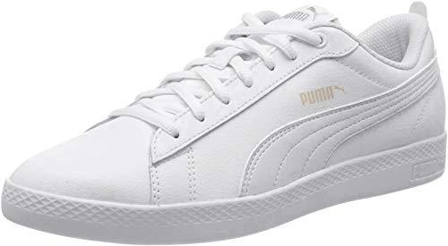 Puma Damen Smash WNS v2 L Zapatillas, Weiß White-Rosewater, 37 EU