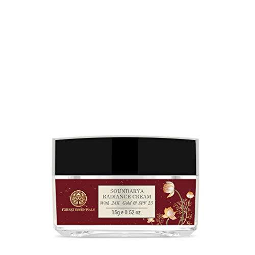 Forest Essentials Travel Size Soundarya Radiance Cream With 24K Gold SPF25