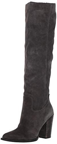 Dolce Vita Women's Kylar Knee High Boot, Anthracite Suede, 10 M US