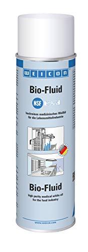 Weicon 11600500 Bio-Fluid-Spray 500ml – Weißöl gegen Reibung, Verschleiß, Rost & Schmutz