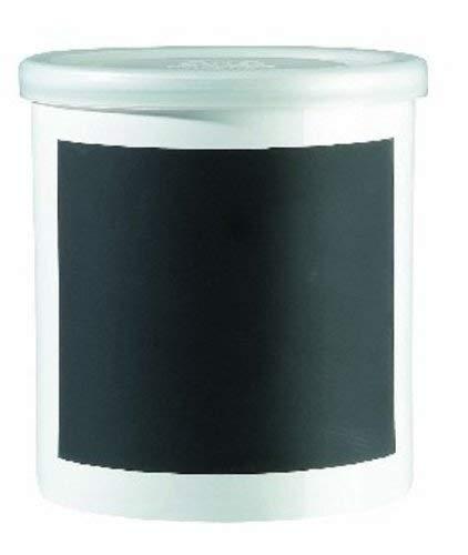 ASA MEMO Vorratsdose, Keramik, schwarz, 13,5cm