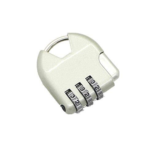 Password Padlock Small Mini Micro Anti-theft Lock Portable Backpack Luggage School Bag Lock