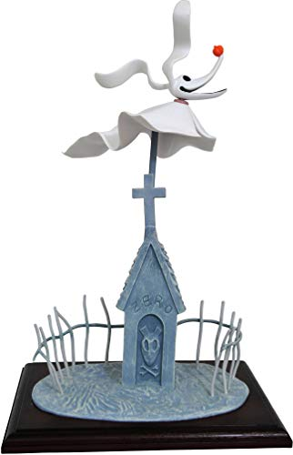 The Nightmare Before Christmas- Nightmare Before Christmas Muñeca Zero Deluxe, Color Blanco (Diamond Select Toys… 1