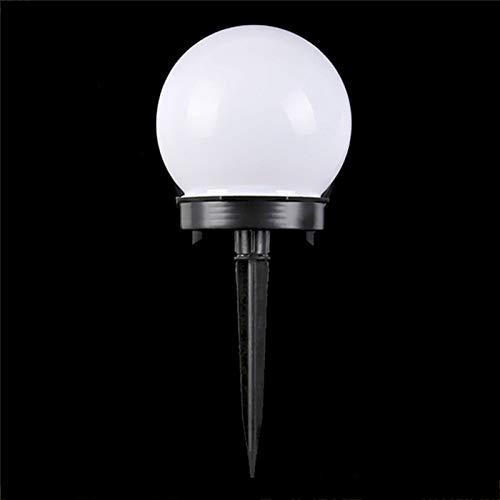 YSYSPUJ Lámpara de césped 6 PCS/Lote Solar Jardín Luz Afile Impermeable LED Bombilla Jardín Luz Al Aire Libre Camping Luces Noche Solar Powered Powered Lámpara (Emitting Color : White)