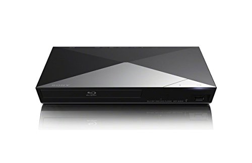 Sony 3D Blu-ray DVD CD 1080p Full HD Disc Player With Built-in Wi-Fi and Streaming Apps, Plus HDMI Cable (Renewed)