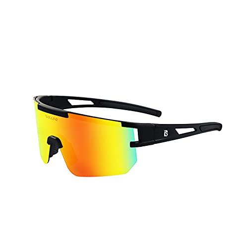 YHSW Gafas de Ciclismo Sol polarizadas para Ciclismo,Gafas Deportivas con protección UV 400,adecuadas la mayoría Las Formas Cara,Correr,Escalar,Pescar,Conducir,Jugar al Golf