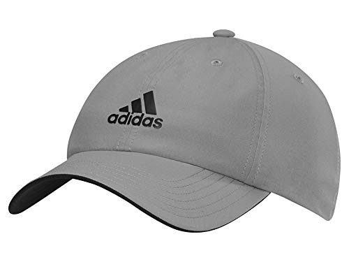 adidas Mens Golf Sports Cap Baseball Hat (Grey)