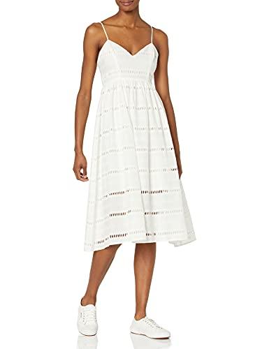 Cynthia Rowley Women's Eyelet Lace Dress, White, 0