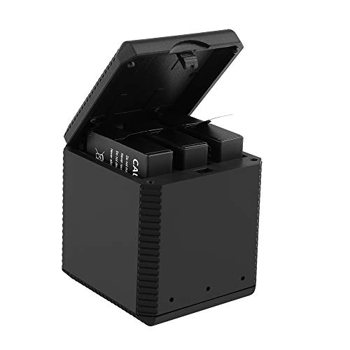 Montloxs 3 in 1 Battery Charger Box for Insta360 One X Camera Smart Intelligent Battery Charge Hub with Type-C Interface