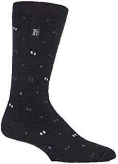 Heat Holders Mens Winter Warm Thermal Ultra Lite Socks - for Business Shoes