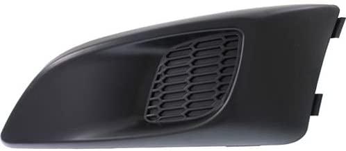 Perfect Fit Group REPC108612 - Sonic Fog Lamp Cover, LH, Black, W/O Fog Lamp Hole, Ls/ Lt/ Ltz Model, Hatchback/ Sedan