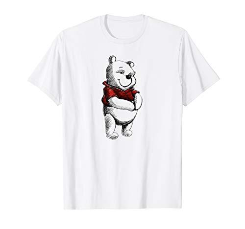 Disney Sketch of Winnie the Pooh T-Shirt